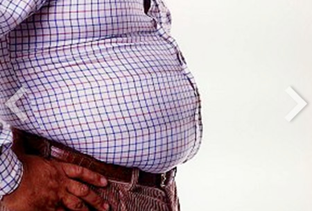 abdominal fat potbelly