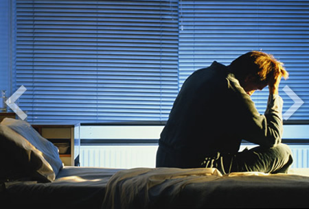 Man depressed hormonal imbalance